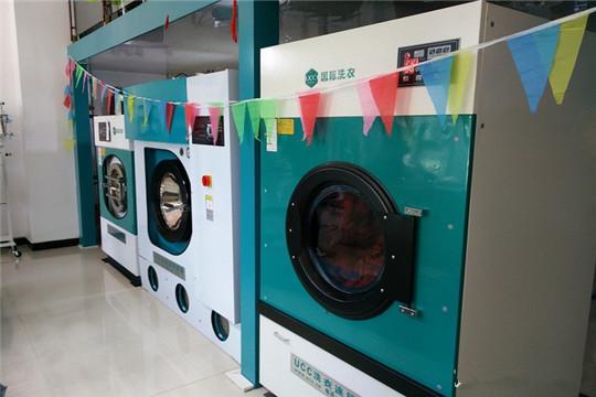 干洗店里的一台石油干洗机多少钱