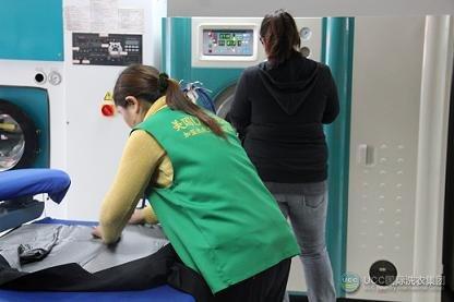UCC国际洗衣加盟商参与总部技术培训中