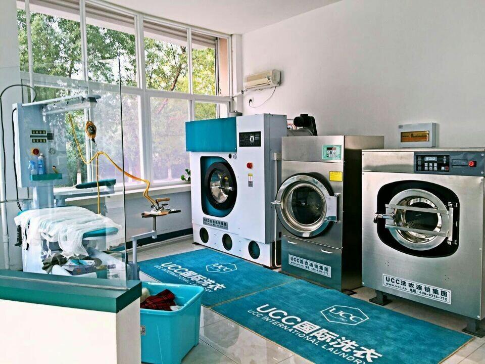 开干洗店设备的支出多少